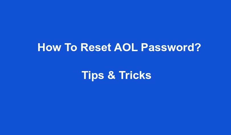 How To Reset AOL Password?